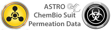 Astro Chemical Permeation Data