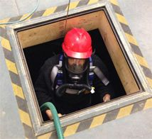 Respirator for Confined Space